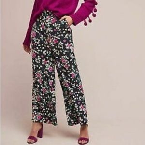 Selected Femme x Anthro Chloris Floral Wide Pants